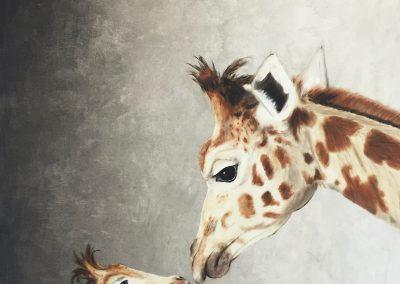 """""""Mutterliebe - Giraffe II."""""""