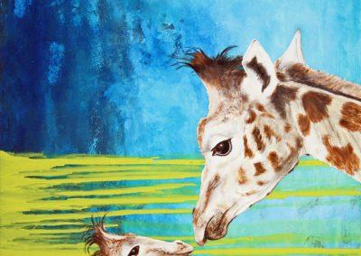 """""""Mutterliebe - Giraffe I."""""""